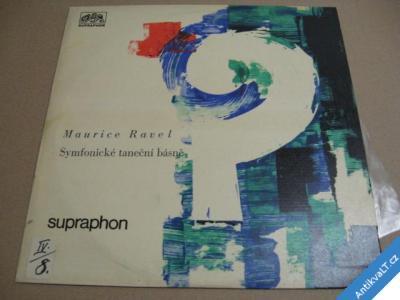 foto    Ravel Maurice Symfonické taneční básně 1964