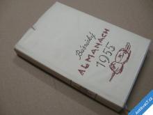 Básnický almanach 1955 Závada, Nezval, Ježek...