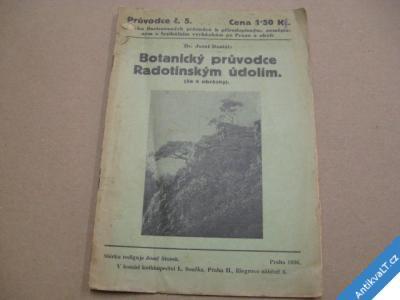foto    Botanický průvodce Radotínské údolí Dostál J. 1936