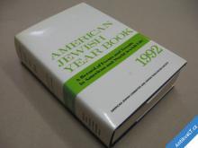 AMERICAN JEWISH YEAR BOOK 1992