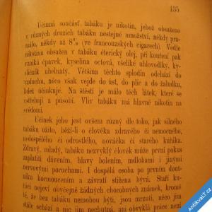 foto Panýrek Duchoslav ZDRAVOVĚDA 1896 životospráva, strava, tabák, úrazy..