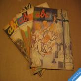 ČASOPIS ABC ročník 1961 čísla 1 2 4