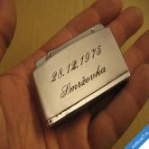 STARÝ ZAPALOVAČ PLYNOVÝ CONN 44 vyryto Smržovka 28. 12. 1975