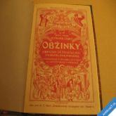 Zíbrt Čeněk OBŽINKY 1926 obrazy ze života ČS lidu