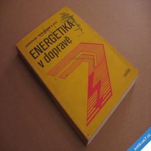 foto ENERGETIKA V DOPRAVĚ - ŽELEZNICE, ELEKTRICKÝ POHON... Trávníček 1988