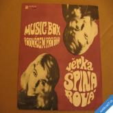 Špinarová V. MUSIC BOX, PODNÁJEM PRO DVA 1970 SP 04 0269