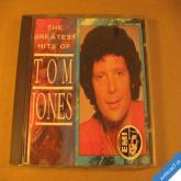 Jones Tom THE GREATEST HITS 1987 UK CD