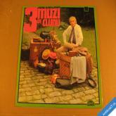 3 MUŽI VE ČLUNU Horníček M. 1974 Supraphon LP mono