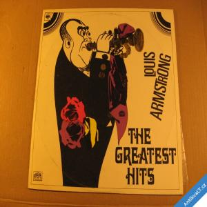 foto Armstrong Louis THE GREATEST HITS 1970 CBS Supraphon stereo