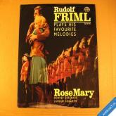 Friml Rudolf ROSE MARIE ALLÁHOVA DOVOLENÁ... 1965 LP