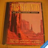 This Is Country All Time Country Greats 1997 UK CD
