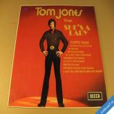 Jones Tom SHE´S A LADY Puppet Man... DECCA LP 1971 India