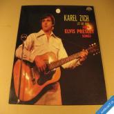 Zich Karel LET ME SING SOME ELVIS PRESLEY SONGS 1983 LP