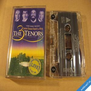 foto THE 3 TENORS Carreras, Domingo, Pavarotti with Mehta 1994 Warner R. MC