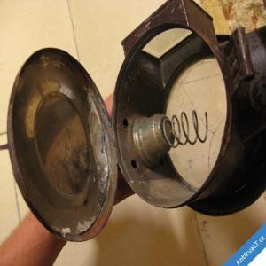 foto STARÁ KOČÁROVÁ LAMPA NA SVÍČKU 45 CM