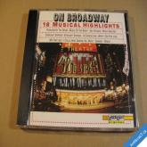 ON BROADWAY 18 MUSICAL HIGHLIGHTS 1994 Delta Music CD