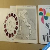 STEREOVIZE MEOPTA San Remo Itálie 60. léta