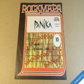 PANIKA  BEZDĚZ, VYSOČANY LIBEŇ Křístek, Volná, Dědeček  ROCKMAPA 1989