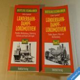 LÄNDERBAHN DAMPFLOKOMOTIVEN 1 - 2 1994 Augsburg