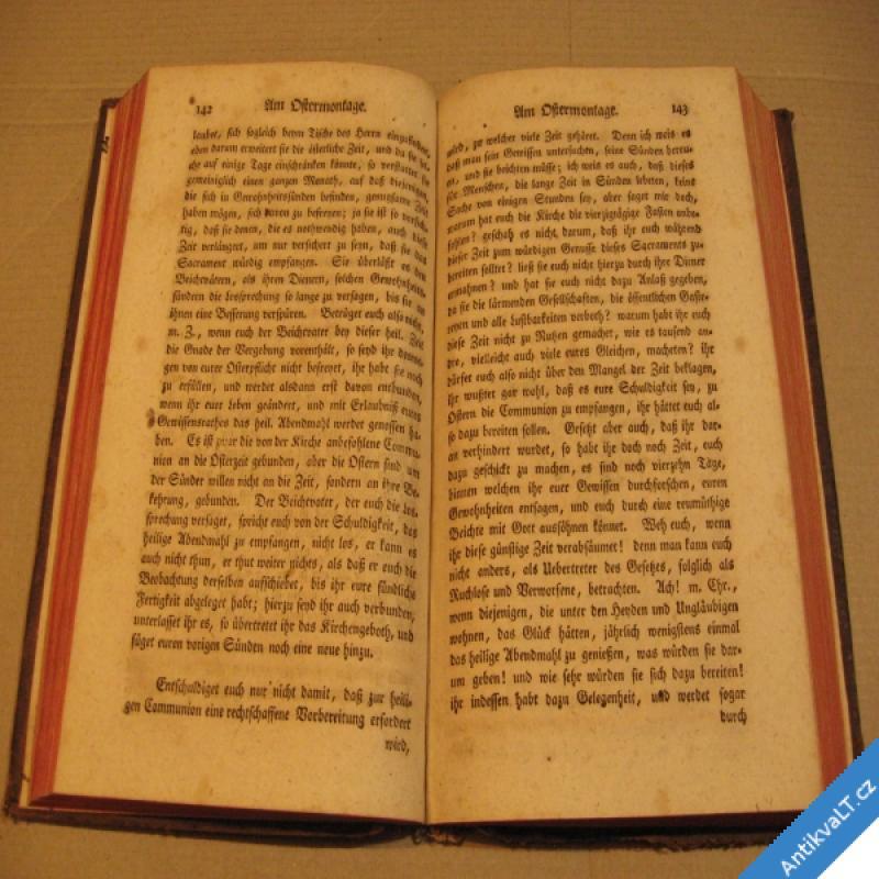 foto Predigten auf alle Feste Joseph Haberkorn von Habersfeld 1781 Breslau