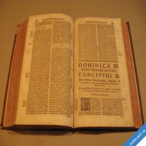 foto Spicilegium Concionatorium Conceptus Morales Pro Cathedra 1742 Claus