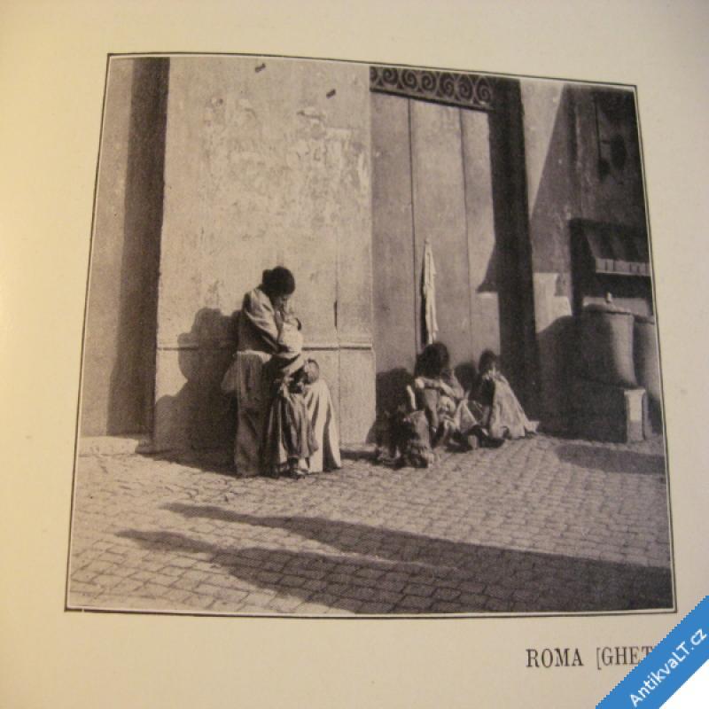 foto BILDER AUS JTALIEN stará Itálie v obrazech 1909