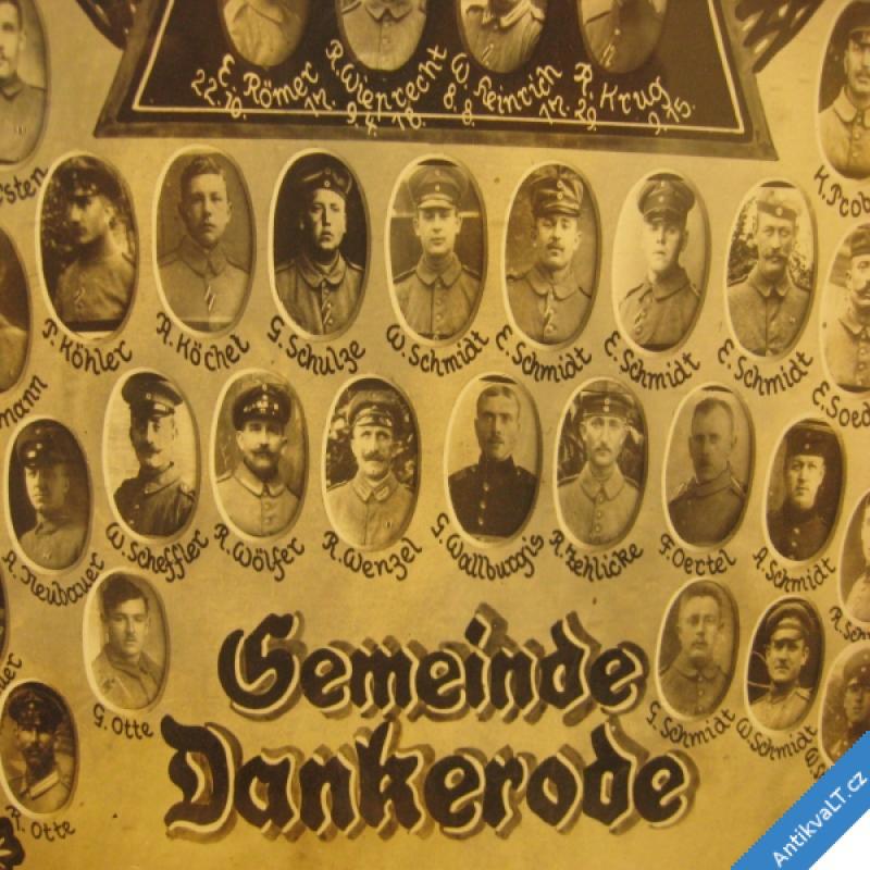 foto EHRENTAFEL FÜR DIE GEFALLENEN UND KRIEGSTEILNEHMER 1914 - 1918