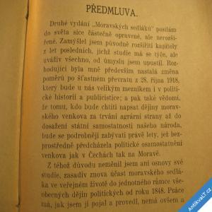 foto Obrtel F. MORAVŠTÍ SEDLÁCI 1919