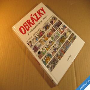 foto OBRÁZKY Z ČESKOSLOVENSKÝCH DĚJIN Černý, Veis, Šalamounová komiks 2012