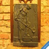 LITINOVÁ DLAŽDICE - SLÉVAČ - HUTNÍK 33 x 25 cm
