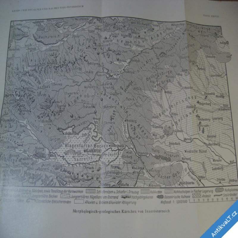 foto DIE OSTALPEN und das Heutige Österreich II regional Krebs N. 1928