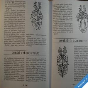 foto Halada Jan LEXIKON ČESKÉ ŠLECHTY erby fakta osobnosti sídla... 1992