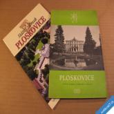 2 x brožura PLOSKOVICE st. zámek a okolí 2003 a 1961