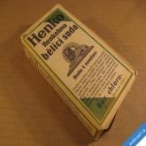 HENKO - HENKELOVA BĚLICÍ SODA prací prášek - originál 1940 Protektorát