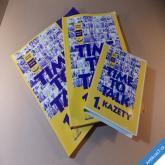 ANGLIČTINA TIME TO TALK komplet 2 knihy a 4 kazety