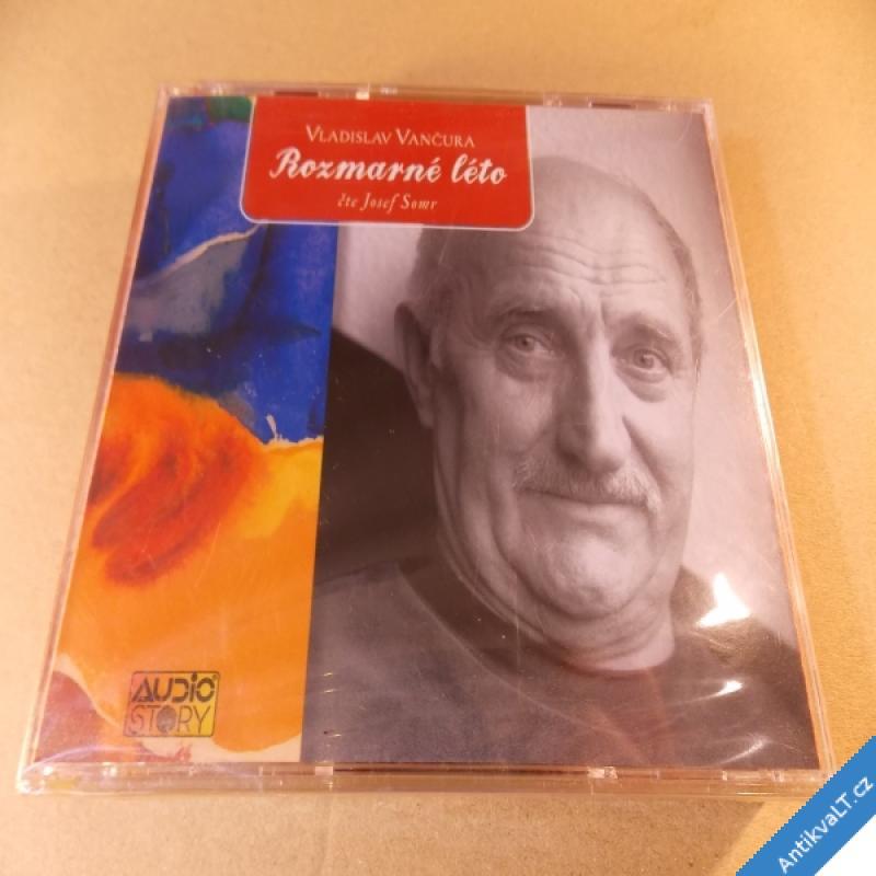 foto Vančura Vl. ROZMARNÉ LÉTO čte Josef Somr 3 CD Popron nerozbaleno