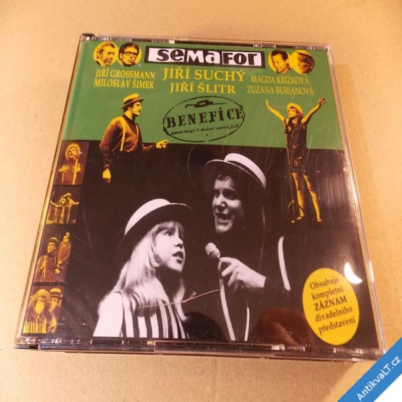 foto SEMAFOR Suchý Šlitr Grossmann Křížková... BENEFICE 2 CD 2006