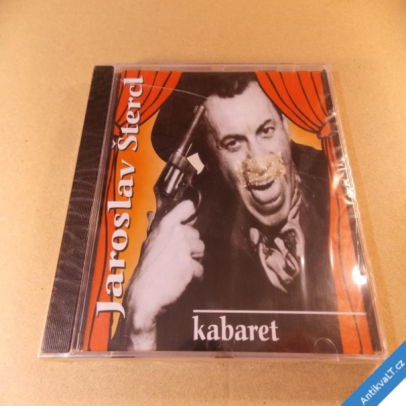 foto Štercl Jaroslav KABARET CD 1999 ČT Rychtařík prod., nerozbaleno