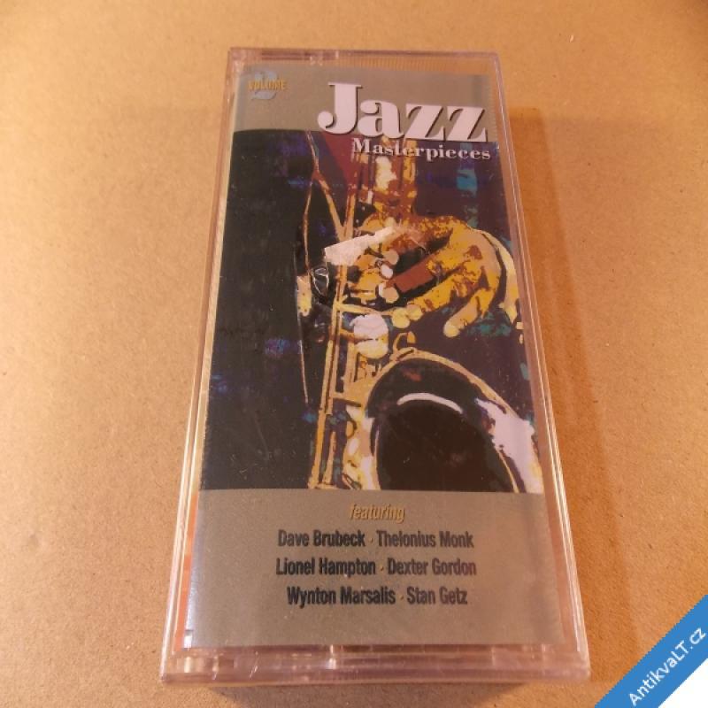 foto JAZZ MASTERPIECES Brubeck, Monk, Hampton... MC 1996 GB nerozbaleno