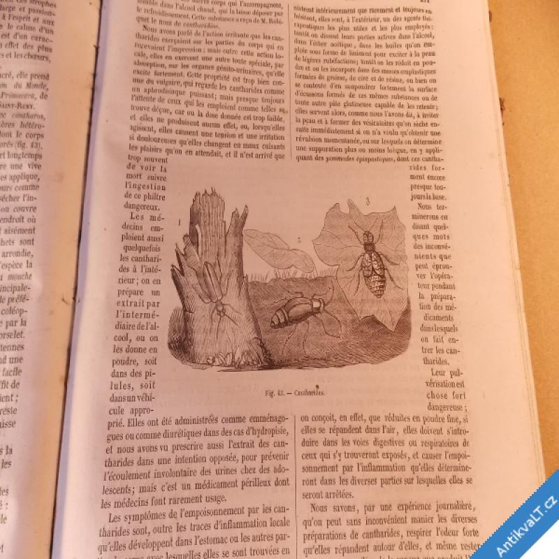 foto JOURNAL ENCYCLOPEDIQUE Des connaissance humaines cca 1850 B - Cha