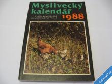 MYSLIVECKÝ KALENDÁŘ 1988 SZN