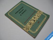 PAVLOVSKÉ VRCHY TURIST. PRŮVODCE  1958