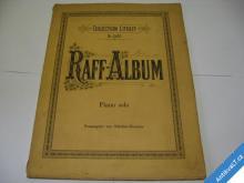 RAFF ALBUM  PIANO SOLO  CA 1920