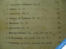 FR. CHOPIN  COMPOSITIONS DIVERSES  PAR M. R. PUGNO