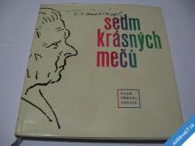 SEDM KRÁSNÝCH MEČŮ  ŠRÁMEK S GRAMODESKOU  KPP 1962