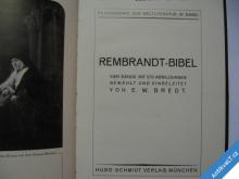 REMBRANDT BIBEL  ALTES TESTAMENT  1921 MÜNCHEN