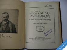 F. SVOBODA STUDIE K PORTRETU + SLOVÁCKO MACHAROVI