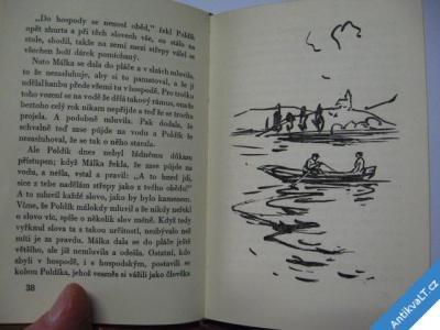 foto    HÁLEK V.  DVĚ KŘÍDOVÉ KRESBY  1960  SEDLÁČEK V.