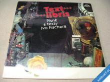 TEXT LIBRIS  PÍSNĚ S TEXTY IVO FISCHERA  1984