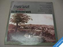LISZT FRANZ DAS ORCHESTERWERK KÖNIG K. TENOR 2 LP